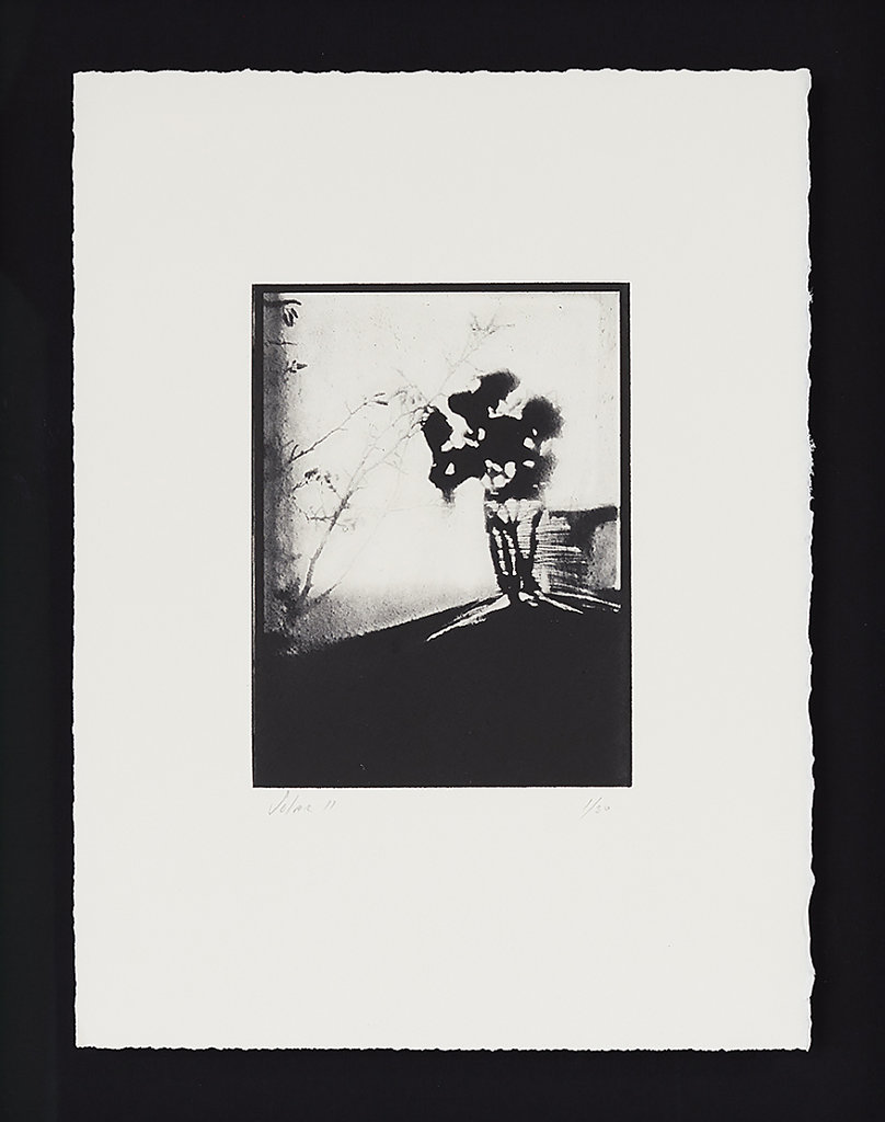 Solar II - Solar Plate Intaglio Print on Somerset Paper  - 49.5cms x 40.0cms - Edition of 30 - £330.00 Framed